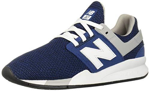 New Balance MS 247 FK de la Zapatilla de deporte para hombres azul blanco, 44 EU