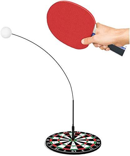 BBGSFDC Tischtennis Trainingsgerät Elastic biegsame Welle Einstellbare Kinder Anti-Myopie Indoor Multifunktionsselbst Praxis Tischtennis Spielzeug