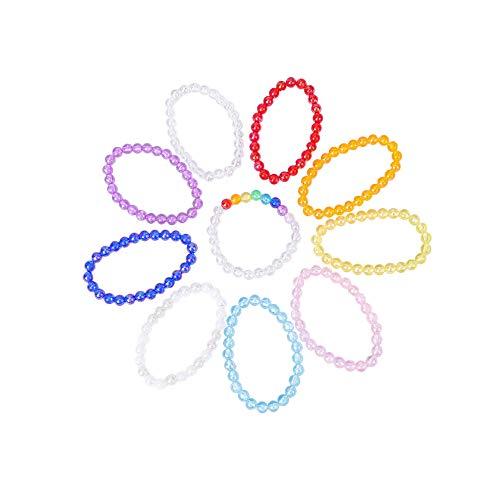 MILAKOO 6 Pcs Braided Leather Bracelets for Men Women Woven Cuff Bracelet Adjustable
