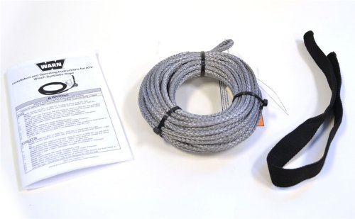 WARN 73599 Synthetic Rope Service Kit by Warn (English Manual)
