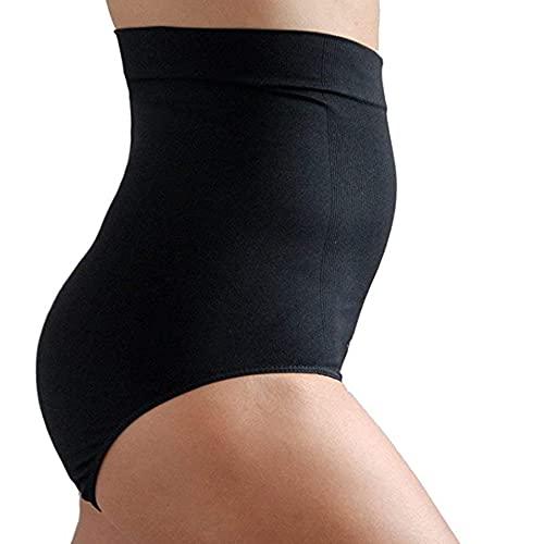 Upspring - Faja postparto para adelgazar la vientre y proporcionar compresión después del embarazo, color negro, talla L/XL