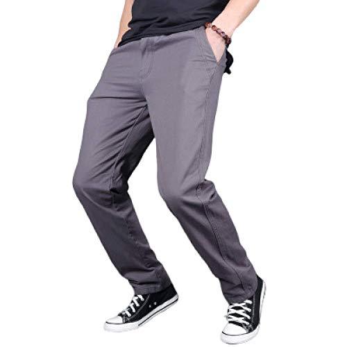 Pantalon de Jogging de Couleur Unie pour Hommes Pantalon de survêtement Sport Casual Cordon de Serrage Taille élastique Stright Endurance Cargo Combat Work Trouser