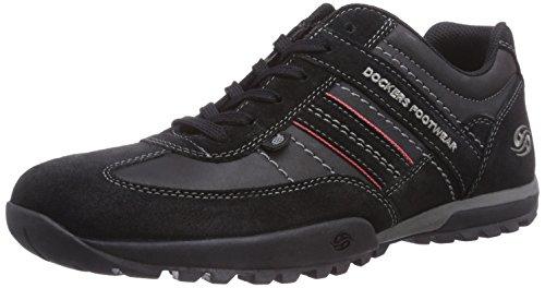 Dockers by Gerli Herren 36HT001-204320 Sneakers, Schwarz (schwarz 100), 45 EU