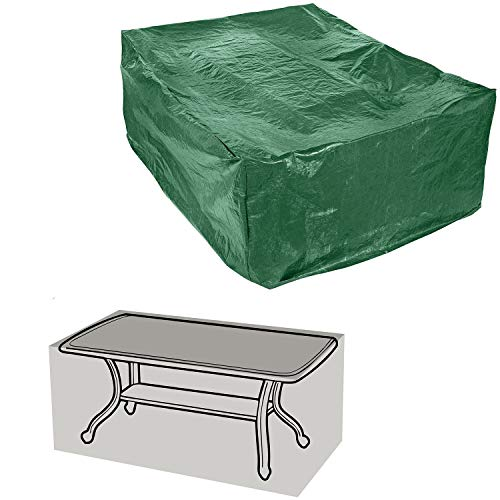 Parkland Rectangular Garden Furniture Cover, Lightweight and Durable Outdoor Waterproof Cover for Garden Table and Chairs L170 x W94 x H71cm
