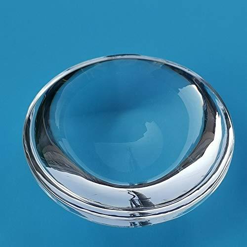 NO LOGO 1pc Convex Objektiv-Durchmesser 16 mm Brennweite 10 mm Probe K9 optisches Glas Mini Lupe