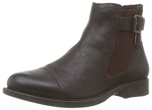 Levi's Damen Maine W Chelsea Schlupfstiefel, Braun (Boots 29), 39 EU