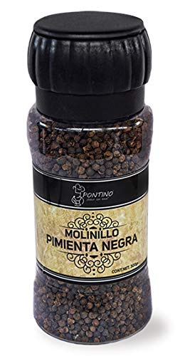 Pontino Pimienta Negra Molinillo, 300 g
