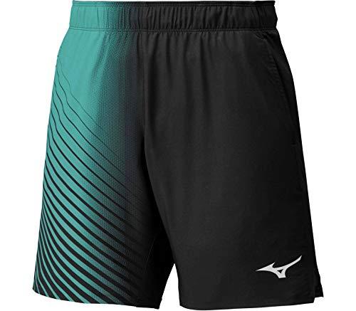 Mizuno - Pantaloncini da Tennis da Uomo Amplify, Taglia S, Colore: Nero, Nero, S