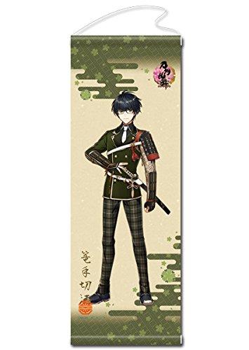 刀剣乱舞 -ONLINE- 篭手切江 タペストリー 66 約H512×W182mm