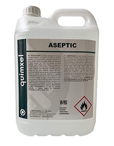 Gel Hidroalcoholico Aséptico Quimxel - 5 Litros