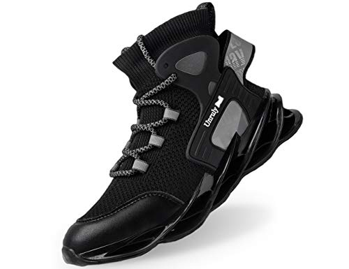 IYVW Men Trainers Casual Running Shoes Fashion Shoe Walking Gym Outdoor
