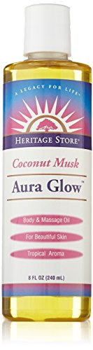 Why Should You Buy Heritage Products Aura Glow, Coconut Musk Scent, 8 Fluid Ounces (240 ml) (Pack of...