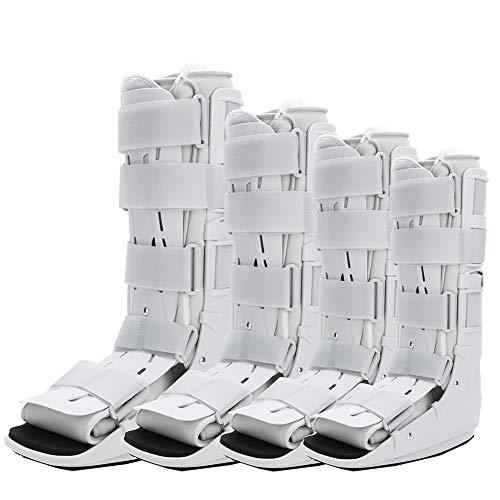 Air Walker-Stiefel, Plantar-Schiene, Schienen-Gehhilfe zur Wiederherstellung von Frakturen, Schutz und Heilung nach Fuß- oder Knöchelverletzungen (S)