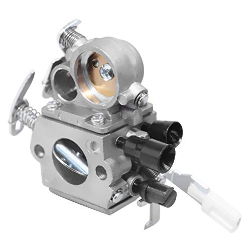 C1Q-S269 Carburetor for Stihl MS171 MS181 MS201 MS211 Chainsaw 1391200619 11391207100 11391200612 with Gasket Fuel Line Filter Spark Plug