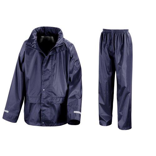 Result Core Regenanzug für Kinder (11-12-jährige) (Marineblau) 11-12 Jahre (144-152 cm),Marineblau