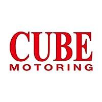 CUBE キューブ モータリング ステッカー レッド 赤