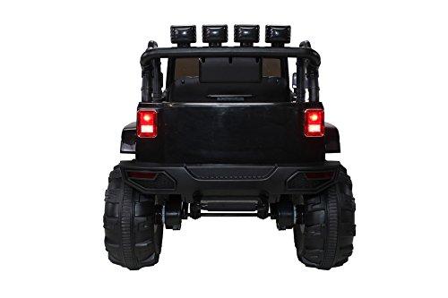 RC Kinderauto kaufen Kinderauto Bild 1: Actionbikes Motors Kinder Elektroauto Offroad Jeep 2 x 35 Watt (Schwarz)*