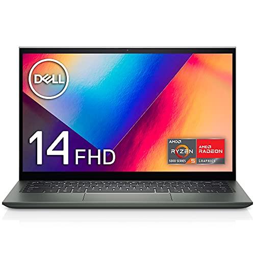 Dell モバイル2-in-1ノートパソコン Inspiron 14 7415 ペブルグリーン Win10/14FHD/Ryzen 5 5500U/8GB/256GB SSD/Webカメラ/無線LAN NI564CA-BNL【Windows 11 無料アップグレード対応】