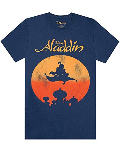 Disney - Aladdin Magic Carpet Distressed Print Men