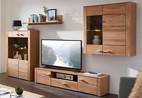 Wohnwand FSC®-zertifizierter Holzwerkstoff