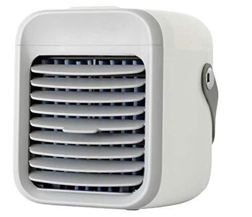 Blaux Tragbare AC – Persönliche Mini-Klimaanlage mit Griff, USB 2000 mAh Akku wiederaufladbar, tragbare 3 Geschwindigkeiten Luftreiniger für Zuhause, Büro, Raum – schnelle Kühlung in nur 30 Sekunden