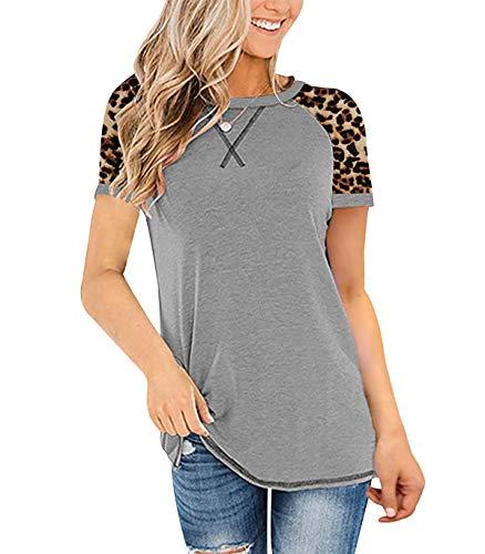 T- Shirt Damen Chiffon Bluse Damen Bluse Damen Schwarz Einfarbige T-Shirts Damen Polo T Shirt Damen Shirts Damen Kurzarm Shirtkleider Damen Kurzarm T-Shirt Damen Schwarz T- Shirt Grau 4XL