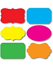 Nourish 36 Pcs in 6 Styles and 6 Colours - Sticker Labels