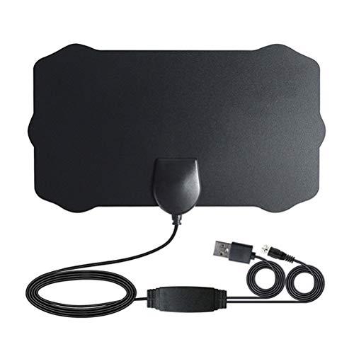 Dowoa Antena de TV Amplificador de Antena de HDTV Digital para Interiores...