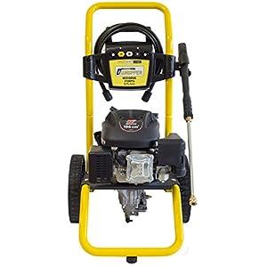 WASPPER ✦ Hidrolimpiadora de Motor de Gasolina 3100 PSI ✦ 173cc con Potencia de Alta presión Jet Hidrolimpiadora Profesional W3100VA portátil Limpiadora para Autos y Patios