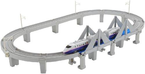 E2 Hayate elevated rail system set Pla Tohoku Shinkansen Aomori stretched Memorial (japan import)