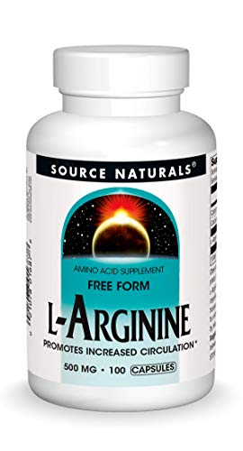 Source Naturals L-Arginine Free Form (500mg) 100 caps by Source Naturals