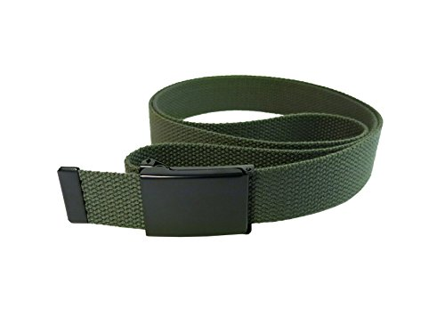 InsectGuard - Permethrin Treated Tick & Mosquitoes Insect Repellent Fabric Belt (Green) One Size Fits All!