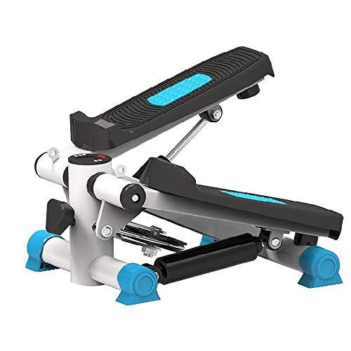 LUNANA Up-Down-Stepper, Mini-Fitnessgerät inkl. LCD-Trainingscomputer mit vielen Funktionen, Fitnesstraining für Zuhause, Heimtrainer, Swingstepper für Bein- und Po-Training