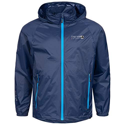 Outdoor Jacke und Regenjacke Deproc Robson Farbe darkblue, Größe XL