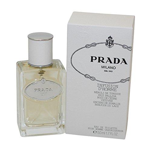 Prada Infusion D'Homme / men, Eau de Toilette, Vaporisateur / Spray 50 ml, 1er Pack (1 x 50 ml)