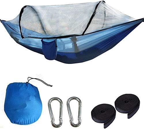 Nylon Hangmat, Nylon Quick Open Hangmat 260 * 140cm, Draagbare Hangmatten Voor Outdoor Camping Reizen Wandelen Backpacking Beach Yard