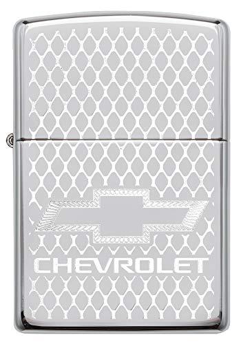 Zippo Chevrolet Chrome lucido Logo