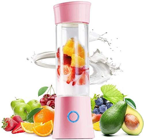 SYLOZ-URG Potente mezclador personal for Smoothie y batidos, 380 ml Mini Blender, en alimentos for bebés, Ministerio del Interior al aire libre y viajes SYLOZ-URG