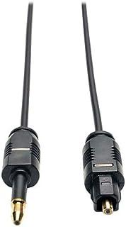 Cabo Optico Para Ligar Audio Tv No Mibox e Echo Studio Spidf 3.5mm - 1 Metro