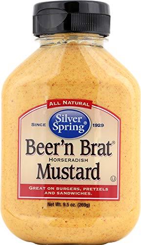 Silver Spring (NOT A CASE) Beer 'n Brat Mustard