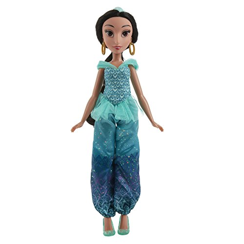 Hasbro Disney Prinzessin B5826ES2 - Schimmerglanz Jasmin, Puppe
