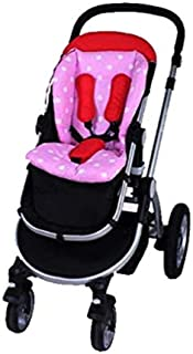 Replacement Parts/Accessories to fit Safety 1st Strollers and Car Seats Products for Babies, Toddlers, and Children (Pink Polka Dot Cushion)