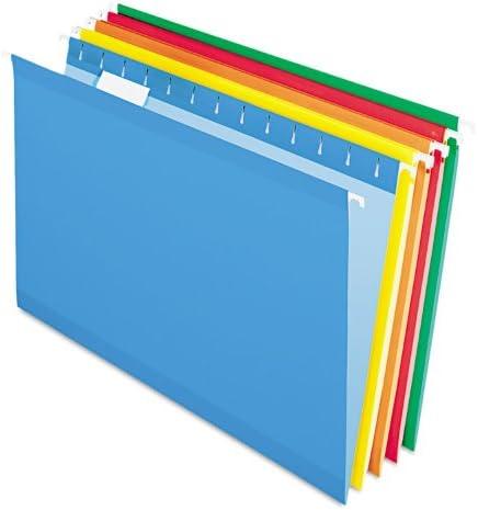 Pendaflex 415315ASST Hanging Folder 1 5 Cheap bargain BX Cut Tab High order Legal 25