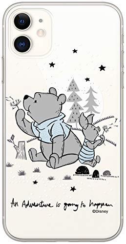 ERT Disney - Custodia per iPhone 11, motivo: Winnie the Pooh, trasparente DPCPOOHPIG7296