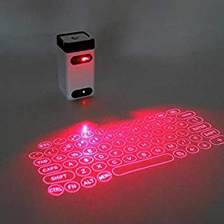 Keyboards - LeIng FST Bluetooth virtual laser keyboard Wireless Projector keyboard for computer Phone pad Laptop With Mous...