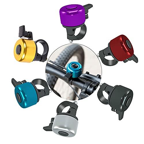 Timbre de Bicicleta,Aluminio Timbre,Timbre para Bicicleta Infantil,Timbre de Bicicleta,Campana de Bicicleta,Mini Timbre de Bicicleta