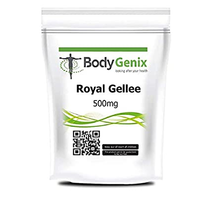 Royal Gellee 500mg Soft Gel caps to Boost Your Health, BODYGENIX UK Made (30)