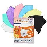 20x Bunte Mini FFP2 Masken in Kleiner Größe, CE Zertifiziert und einzeln verpackt, mit...