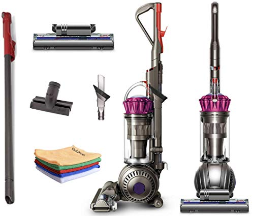 Flagship Dyson Ball Multi Floor Upright Vacuum Cleaner:High Performance, HEPA Filter, Bagless Height Adjustment, Strong Suction, Telescopic,Self Propelled, Rotating Brush +Hubxcel one Microfiber Cloth