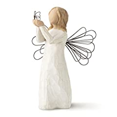 "Sentiment: ""Allowing dreams to soar"" written on Enclosure Card 5""h hand-painted resin figure with wire wings. Wire accent. Ready to display on a shelf, table or mantel. To clean, dust with soft brush or cloth. A gift for graduates or to celebrate lif..."